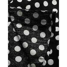 allegra k men 100 cotton polka dots long sleeve slim fit dress
