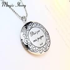 round locket necklace images Magic ikery men 39 s round photo memory floating locket necklace rose jpg