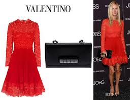 va va voom dresses nicky s valentino lace and silk crepe dress and valentino