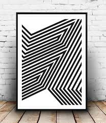 Modern Wall Art Black And White Art Abstract Art Print Modern Poster Wall Print