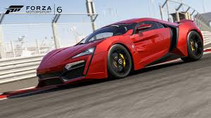 forza motorsport 6 wallpapers lykan hypersport features in forza motorsport 6 polo red dlc