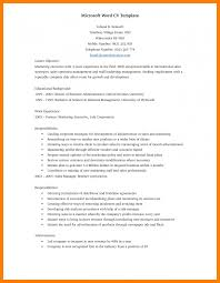 resume template with ms word file resume sle microsoft word good resume format