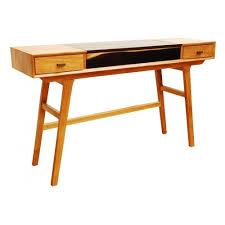 Retro Console Table Libra Two Tone Retro Console Table From Fusion Living Writing Desk