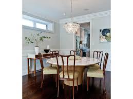 dining rooms marble table top dark wood floor modern buffet crown