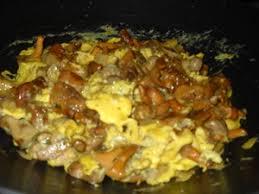 cuisiner des girolles omelette aux cèpes et girolles recette iterroir