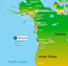 Map Of Sitka Alaska by Wrangell St Elias National Park On An Alaskan Cruisetour
