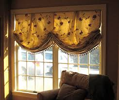 Pattern Roman Shade Decorating Pattern Relaxed Roman Shades With Brown Sofa Also Beige