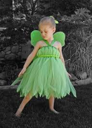 Halloween Costumes Tinkerbell Sparkling Fashion Tutu Dress Princess Frock Crafts