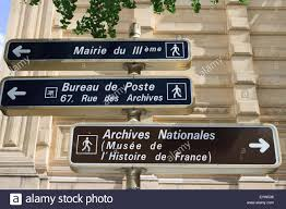 bureau de poste avignon signs stock photos signs stock images