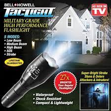 bell howell tac light lantern amazon com taclight tac light tactical flashlight high performance