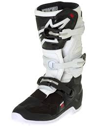 dc motocross boots alpinestars black white tech seven s kids mx boot alpinestars