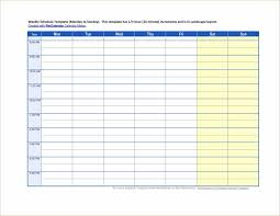 template excel and free maker weekly templates for free work