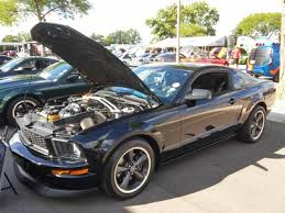 Mustang Black And Green Ford Hq Show 2016 Wheels Water And Engines