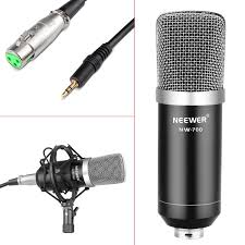 Custom Mic Flags Neewer Nw 700 Professional Studio Broadcasting Recording Condenser