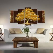 Livingroom Paintings by Autumn Tree Paintings Promotion Shop For Promotional Autumn Tree