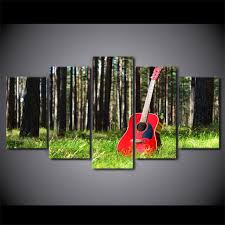 modern canvas pictures hd printed wall art frame 5 pieces musical