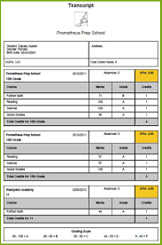 transcripts module view and edit student transcript data with