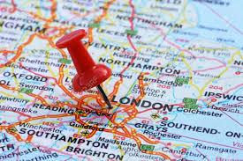 London On Map Pancake Day