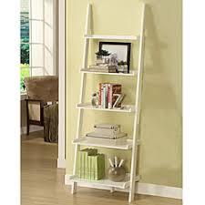 5 Tier Bookshelf Ladder Leaning Bookshelf For Home And Libraries U2013 Bestartisticinteriors Com