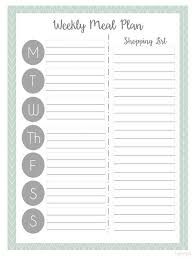 menu planners templates best 25 meal plan templates ideas on menu planning