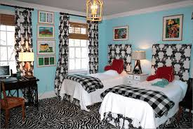 country bedroom designs simple wooden frame with black painting
