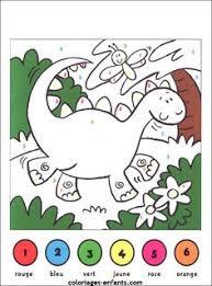 coloriage magique pour moyenne section et grande section