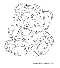 detroit tigers simble colouring pages clip art library