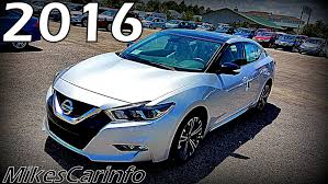 nissan maxima price 2017 2016 nissan maxima platinum ultimate in depth look youtube