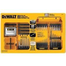 amazon black friday dewalt drill dewalt dw2587 80 piece professional drilling driving set tools