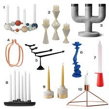 Candle Sconces Contemporary 10 Modern Candle Holders To Complete Your Table Centerpiece