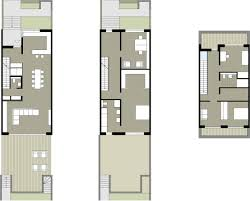 Narrow Floor Plans by Wie Wird Ein Reihenhaus Individuell Architecture Townhouse And