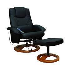 siege massant auchan fauteuil noir massant avec repose pieds neuf top prix pas cher à