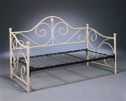 Metal Daybed Frame Metal Daybed Furniture Of Durable Frame Albright