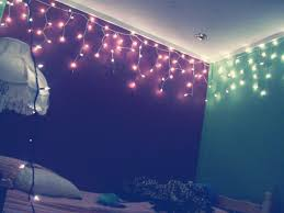 outstanding decorating with christmas lights in bedroom and