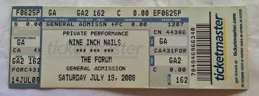nine inch nails live archive nin july 19 2008 inglewood ca