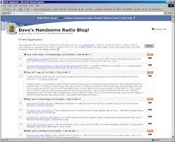 Blog Aggregators by Archive April 2003