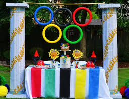 Olympic Themed Decorations 42 Best Olympics Theme Party Images On Pinterest Theme Parties