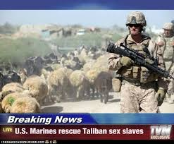 Us Marine Meme - breaking news u s marines rescue taliban sex slaves cheezburger