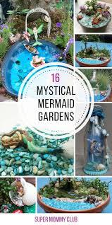 Fairy Garden Ideas by 16 Magical Mermaid Gardens You Can Make In An Afternoon Garden