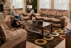 Power Reclining Sofa Set Catnapper Portman Power Reclining Sofa Set Saddle Chocolate Cn
