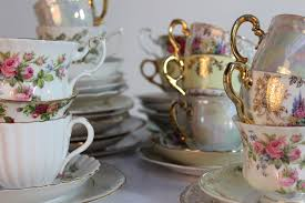 vintage tea set vintage trio tea sets 6 settings something hired