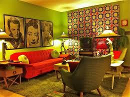 1960s decor vintage living room wallpaper 1960s furniture shabby chic decor