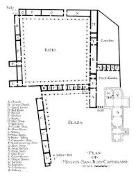 Mission San Jose Floor Plan by A Visit To San Juan Capistrano Page Two