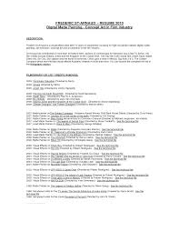 Example Artist Resume by Chic Design Painter Resume 4 Painters Resume Template Resume Example