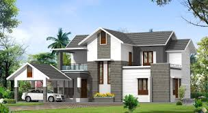 contemporary style kerala home design contemporary 2 story house plans kerala