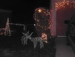 yard decorations simple lighted yard