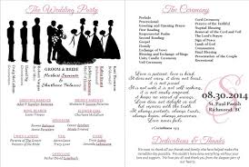 wedding programs template free awesome microsoft wedding program template gallery styles