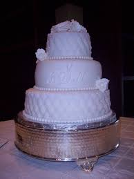 3 tiers wedding cake with strawberry filling my wedding cakes