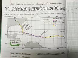 Hurricane Tracking Map Hurricane Irma Tracking U2013 Mrs Geography