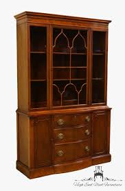 mahogany china cabinet furniture high end used furniture 1940 s antique 47 duncan phyfe mahogany